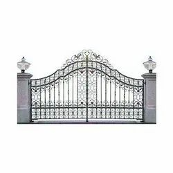 Stainless Steel Exterior Main Gate