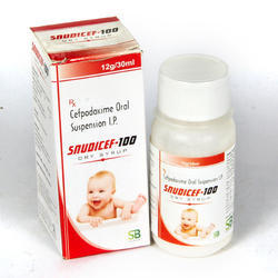 Cefpodoxime 100 mg Oral Suspension
