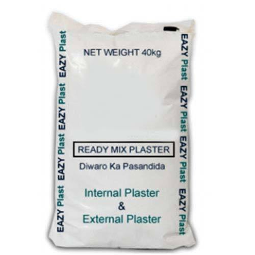Internal And External Ready Mix Gypsum Plaster, Packaging Size: 40 Kg