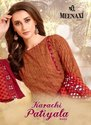 Meenaxi Karachi Patiyala Vol-2 Printed Cotton Dress Material Catalog Collection