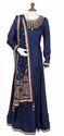 Blue Silk Designer Suit