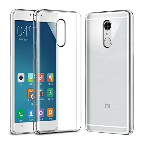 sale retailer 6a93b a88fa Xiaomi Mi Transparent Mobile Case (redmi 4a, Redmi Note 4)
