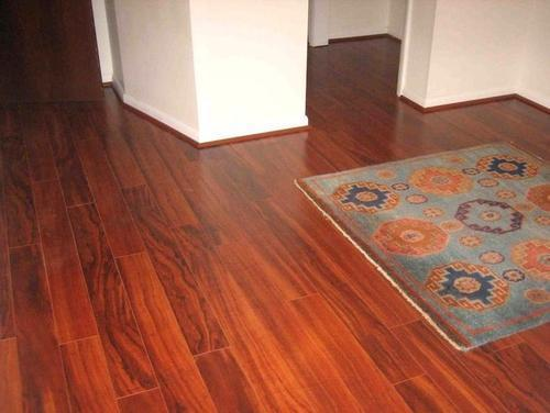 Signature Natural Laminated Wooden Flooring Service Rs 80 Square