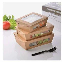 Salad Paper Packaging Box