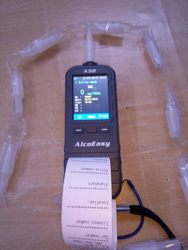 Alcohol Breath Analyzer With Inbuilt Printer A- 50