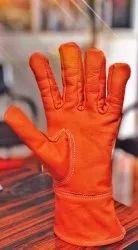 Unisex Sheep nappa Leather Gloves, Finger Type: Full Fingered