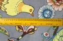 44 Inches Screen Printed Fabric 100% Cotton Bird Printed Material For Dress Coton face Mask Fabric