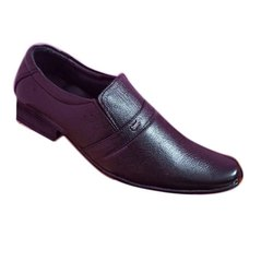 Mens PVC Black Formal Shoes, Size: 6 - 10 Uk