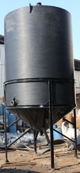 HDPE Conical Bottom with Structure Reactor