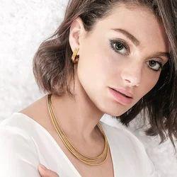 Minimalist Fashion Women Stud Earrings