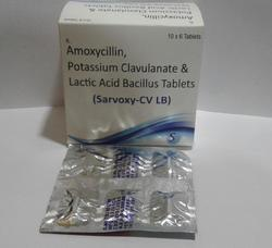 Amoxicillin 500mg  Clavulanate 125 Mg  Lb