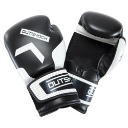 Decathlon 300 Size 8 Black Beginner Adult Boxing Training Gloves