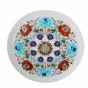 Marble Inlay Decorative Plate Handmade