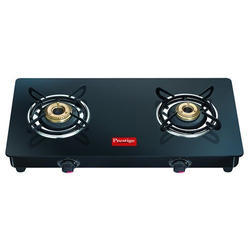 Prestige Black two burner stoves