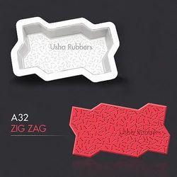 A32 Plastic Zigzag Mould