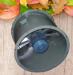 Tubular Axial Fan 762-4-3.7 for Industrial, Impeller Size: 762 mm