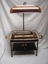 Copper Rectangular Chaffing Dish