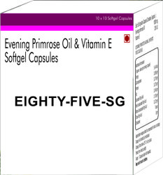 Evening Primrose Oil and Vitamin E Softgel Capsules