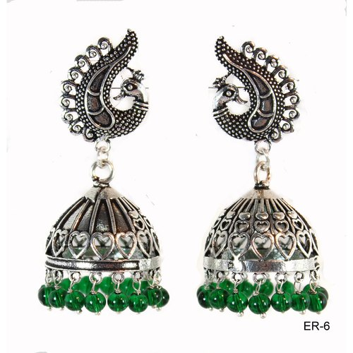 Oxidized Peacock Jewellery