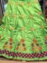 silk Designer Marwari Lehenga Blouse Set, Length: Full Size, Without Duppata