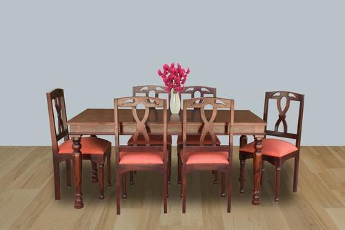 Mahogany SPL Finish Dining Size Width 68 Inches Depth 35 Height