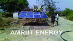 Solar submesible borewell pump