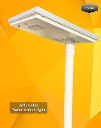 Hybrid MNRE Approved Solar Street Light