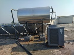 Solar Water Heater With Heat Pump