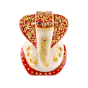 Marble Ganesha Idol 2 inch