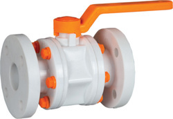 PP Ball Valve Flange End
