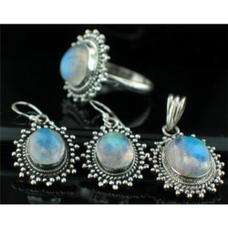 Rainbow Moonstone Jewelry Sets