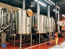 Craft Brewery, Capacity: 2000 L/Hr, for Industrial