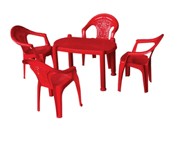Kids Plastic Chairs & Table