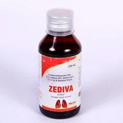 Dextromethorphan Bromhexine Ammonium Chloride Menthol Cough Syrup, Packaging Size: 100 mL