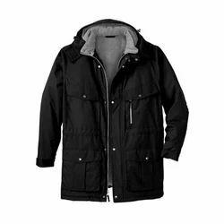 Medium & Large Black Men's Fancy Jacket