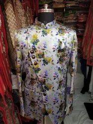 Printed Men's Partywear Jodhpuri, Size: 34-44