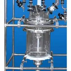 Distillation Unit On Glass Lined Reactor