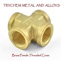 Brass Female Threaded Cross