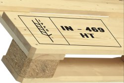 Heat Treated ISPM 15 Wooden Pallet