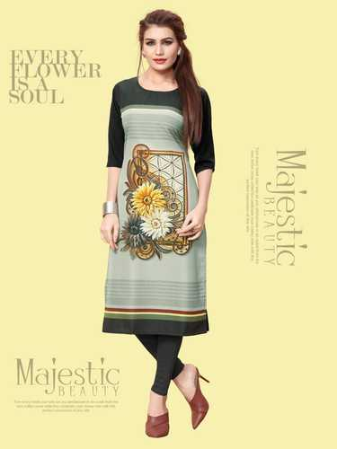 Beautiful Crepe Kurtis