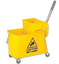 20 lts Single Mop Down-Press Trolley