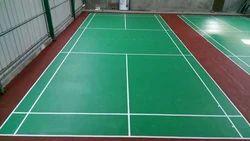 Indoor PU / PVC Flooring Badminton Court Flooring, India