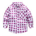 Cotton Regular Wear Kids Shirt