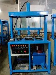 Triple Die Hydraulic Paper Plate Making Machine