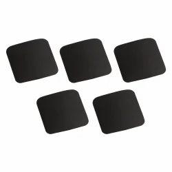 Polytech Black Rubber Mounting Pads