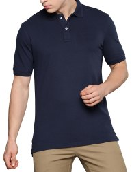 Mens Plain Polo Neck T Shirts