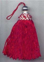 Reddish Christmas Tassel