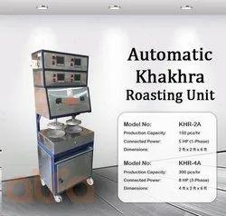 KHR-2P Pedal Type Khakhra Roasting Machine