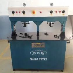 Double Die Disposable Paper Plate Machine