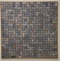 Jagson India Natural Stone Multicolor Slate Mosaic, Thickness: 10 - 12 Mm, Size (millimetre): 300x300 Mm